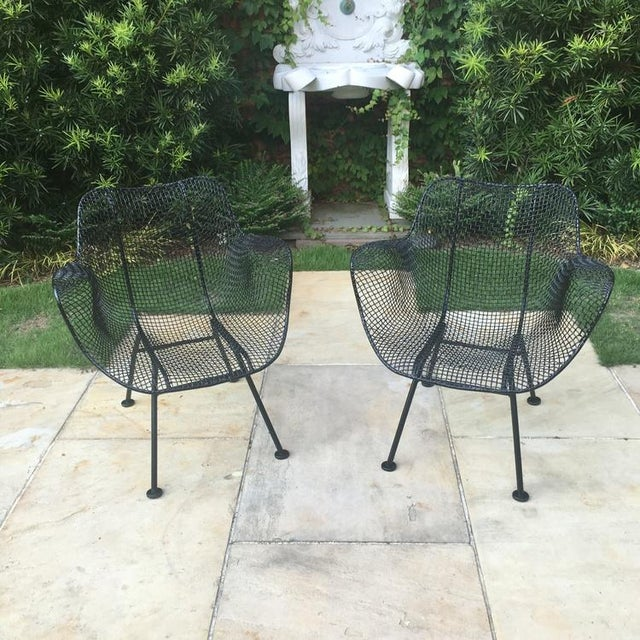 Russell Woodard Vintage Sculptura Chairs For Sale - Image 4 of 4