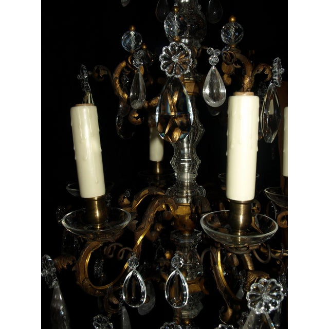 Antique Chandelier. Elegant Louis XV Chandelier For Sale - Image 4 of 7