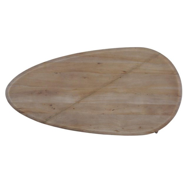 Pebble Coffee Table For Sale In Raleigh - Image 6 of 8