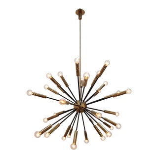 Elliptical Sputnik Chandelier For Sale