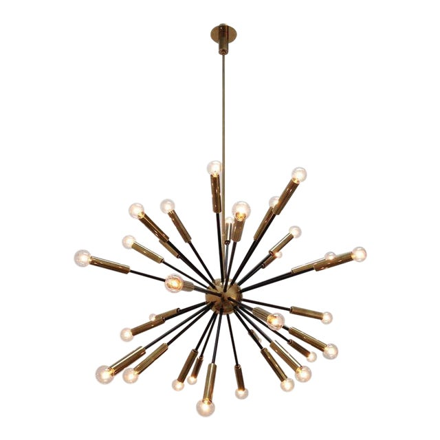 Elliptical Sputnik Chandelier - Image 1 of 10