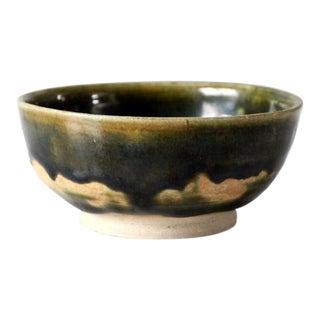 Studio Pottery Bowl Artist Signed For Sale