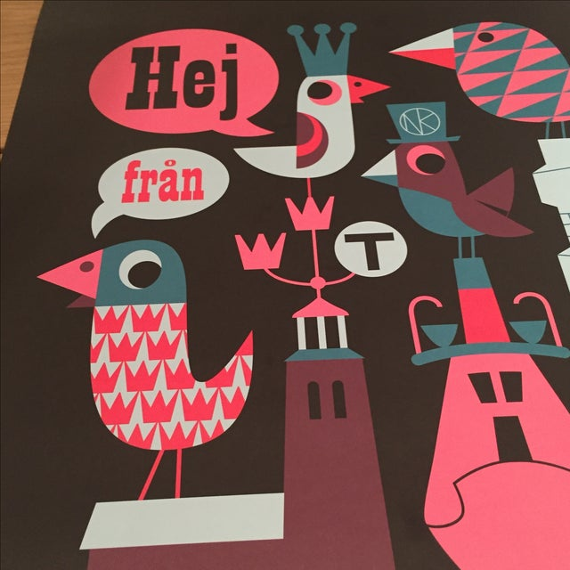 Graphic Pop Stockholm Print - Image 4 of 4