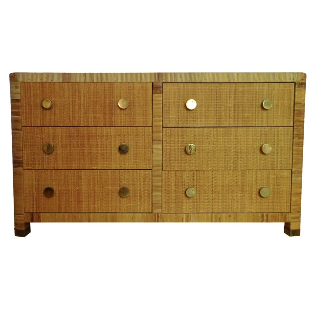 Vintage Bielecky Brothers Cane Double Chest - Image 1 of 6