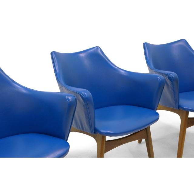 Adrian Pearsall Dining Chairs, Set of Four - Image 6 of 10