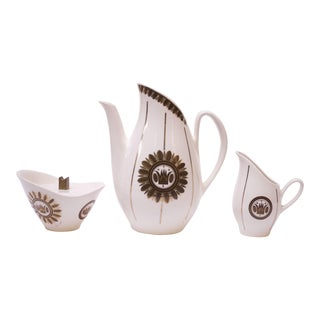 Georges Briard Coffee / Tea Serving Set For Sale