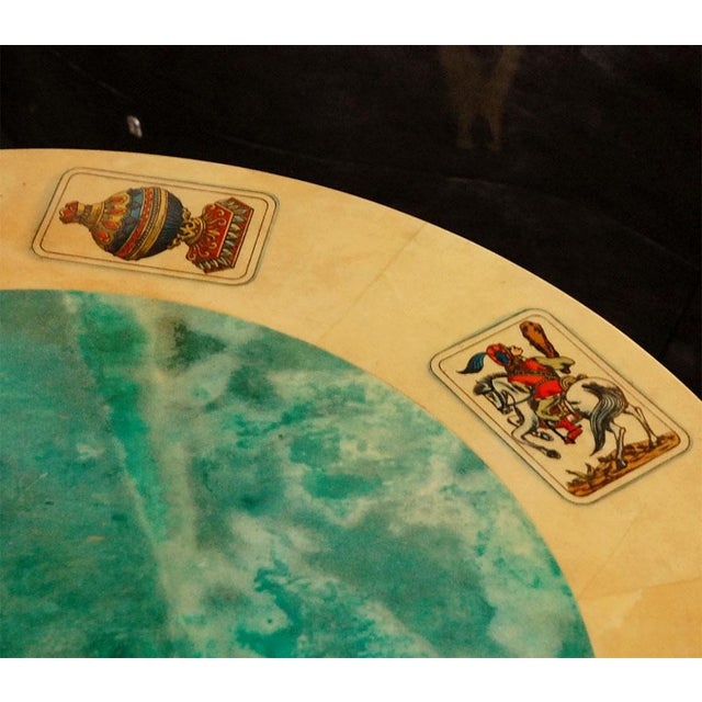 1950s Aldo Tura Game Table For Sale In Los Angeles - Image 6 of 8