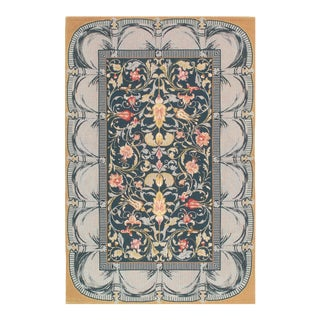 "Pasargad Sino Abusson Rug- 3'9"" X 5'9"" For Sale"