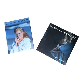 Marilyn Monroe Coffee Table Books- A Pair For Sale