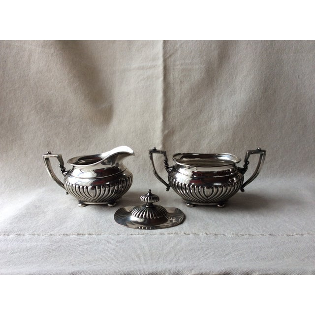 Truly a MidCentury Gem.... Highly Collectible English Heirloom Family Silverplated Set Adams Style /Georgian Period...
