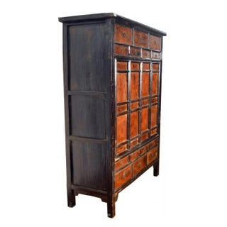 Antique Chinese Large Armoire With 14 Drawers and Storage From the 19th Century Preview