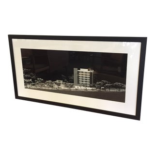 Architectural Model Framed Photo by Keith Kolb For Sale