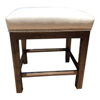 Custom Flat Seat Counter Stool For Sale