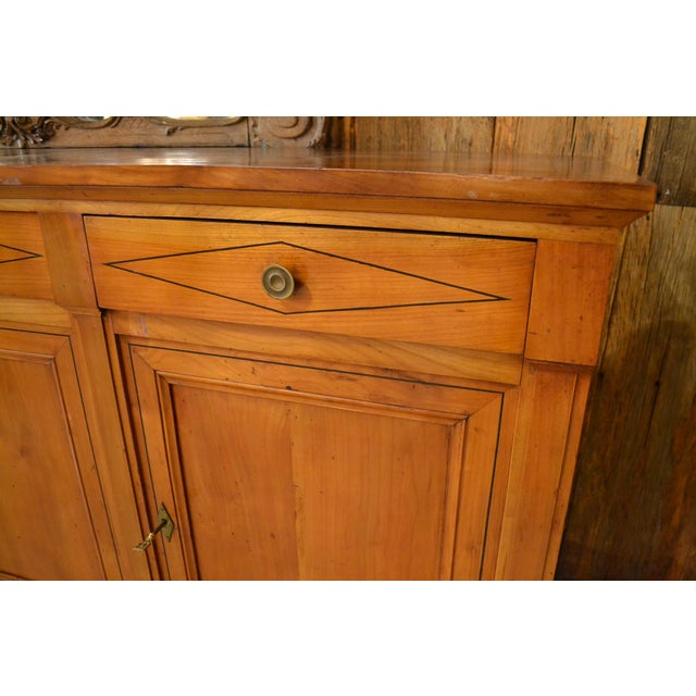 French Antique French 19th Century Directoire Enfilade Sideboard For Sale - Image 3 of 7