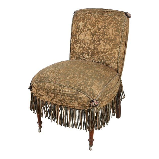 Early 1900s Boudoir Style Chair - Image 1 of 5