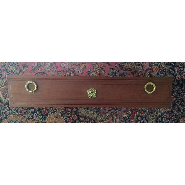 Vintage French Marble-Top Nailhead Trim Dresser - Image 7 of 9