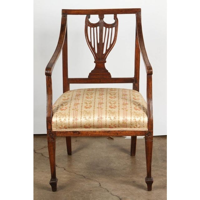Early 18th Century Set of Four 18th Century French Chairs For Sale - Image 5 of 7