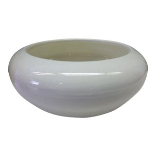 Fred Johnson Bauer Arts & Crafts Mission Pottery White Center Bowl For Sale