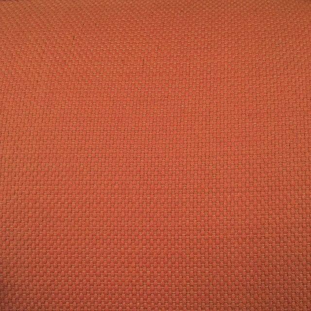 Salmon Mid Century Sofa For Sale - Image 6 of 6