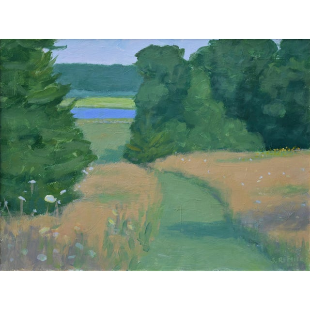 Stephen Remick Pastoral Plein Air Contemporary Paintings by Stephen Remick - Set of 3 For Sale - Image 4 of 13