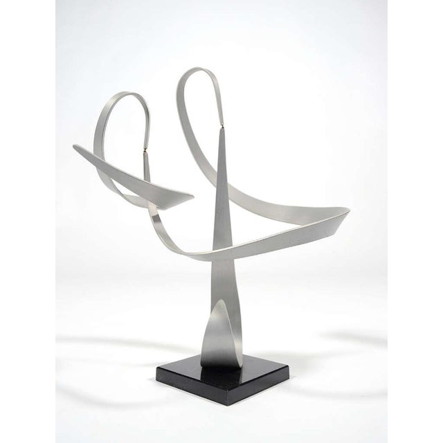 John W. Anderson Kinetic Abstract Sculpture by John Anderson For Sale - Image 4 of 11