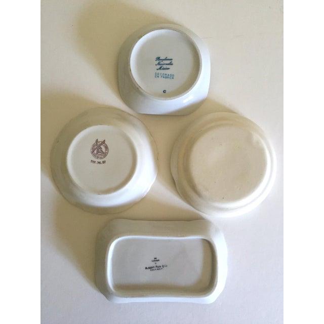 Vintage Mid Century International Hotel & Restaurant Ceramic Ashtrays - Set of 4 For Sale - Image 9 of 12