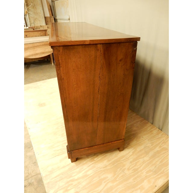 Early 19th C. Directoire' Walnut Enfilade For Sale - Image 4 of 10