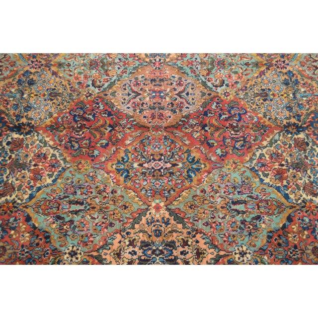 Textile Karastan Multicolor Panel 5.9 X 6.9 Area Rug # 717 For Sale - Image 7 of 13
