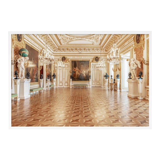 Royal Castle Warsaw Knights Hall by Richard Silver in White Framed Paper, Medium Art Print For Sale