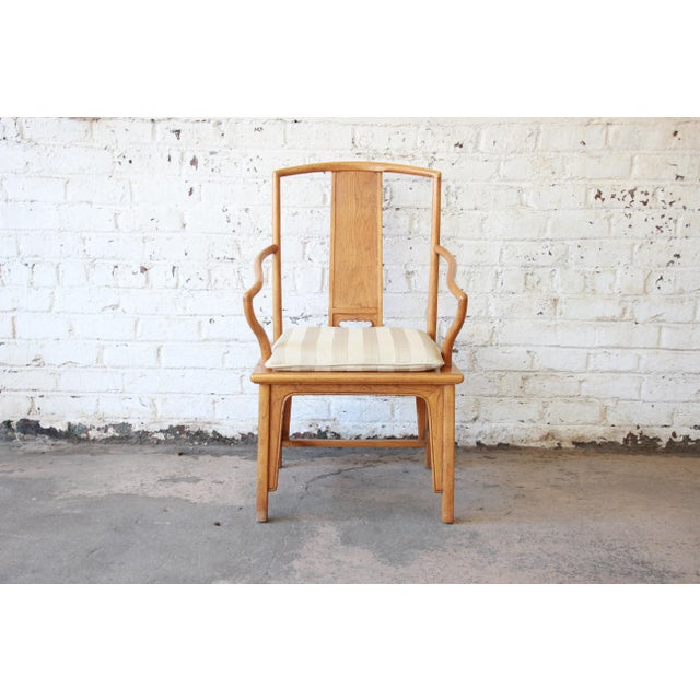 Elm Baker Furniture Chinoiserie Ming Dining Chairs - Set of 6 For Sale - Image 7 of 15
