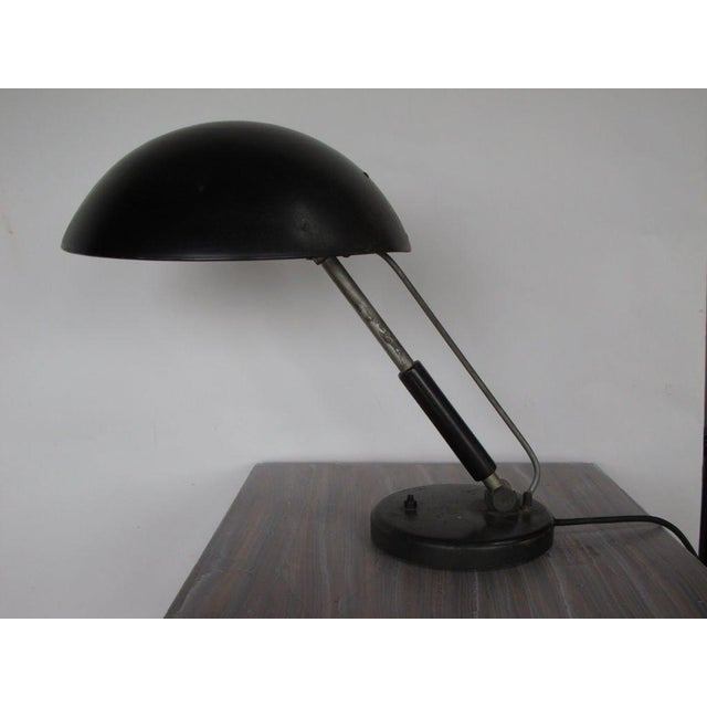 Wood 1930s Vintage Karl Trabert for G. Schantzenbach Desk Lamp For Sale - Image 7 of 7