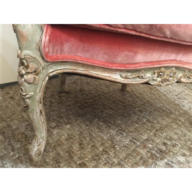 Late 18th Century Late 18th Century French Cane Bergere Chairs- a Pair For Sale - Image 5 of 13