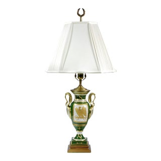 Late 19th Century French Napoleonic Lamp Style of Sèvres For Sale