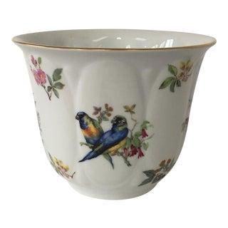 Porcelain Bird Cachepot