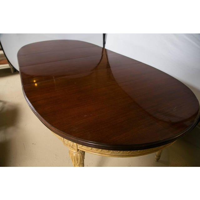 Louis XVI Style Dining Table, Manner of Jansen - Image 5 of 10
