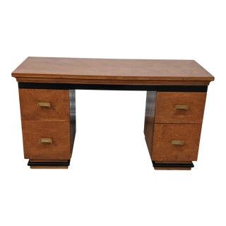 Art Deco Donald Deskey Amodec Dressing Table Streamline Vanity For Sale