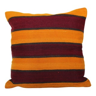 """20""""Large Vintage Turkish Handmade Pillow Cover For Sale"""