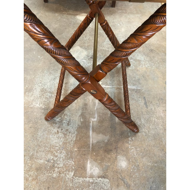 Ralph Lauren Folding Table For Sale In Miami - Image 6 of 9