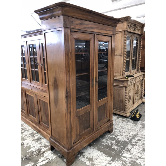 French 19th Century French Louis Philippe Bibliotheque For Sale - Image 3 of 9