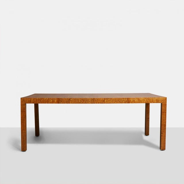 Modern Pace Collection Milo Baughman Style Dining Table For Sale - Image 3 of 5