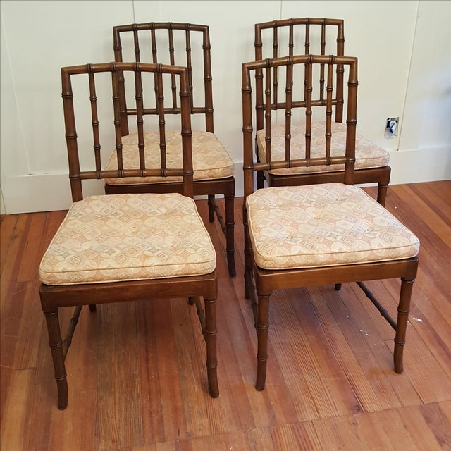 Kindel Chinese Chippendale Dining Chair - Set of 4 - Image 3 of 11
