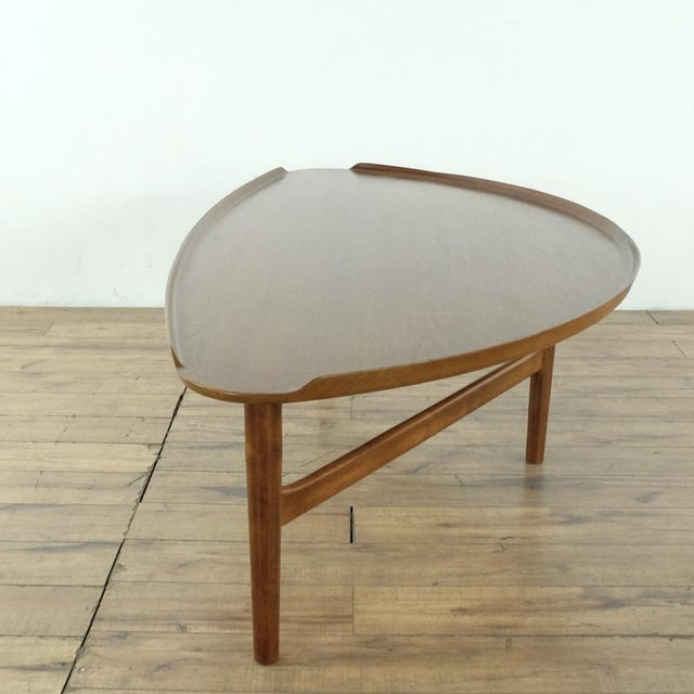 Wood Mid-Century Modern Finn Juhl Teak Coffee Table For Sale - Image 7 of 10