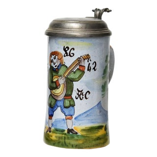 Early 19th Century German Beer Stein For Sale