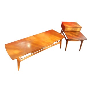 Mersman Mid-Century Coffee Table & Side Table Set For Sale