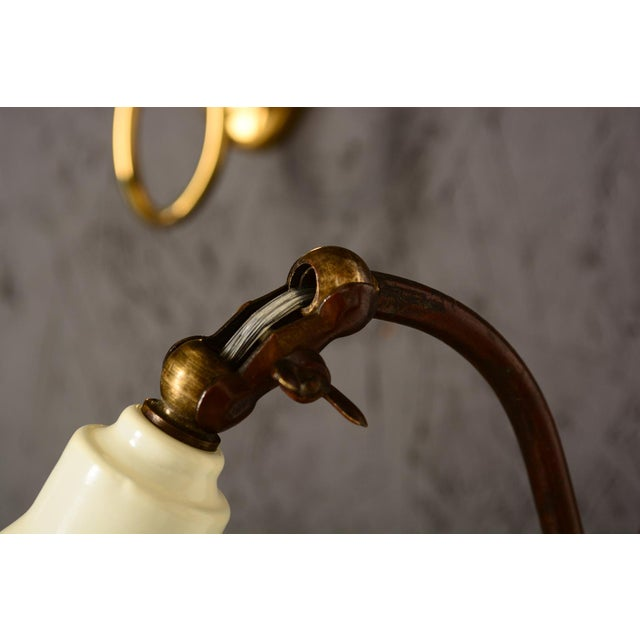 Mid-Century Modern Italian Scissor Wall Sconce For Sale - Image 4 of 11