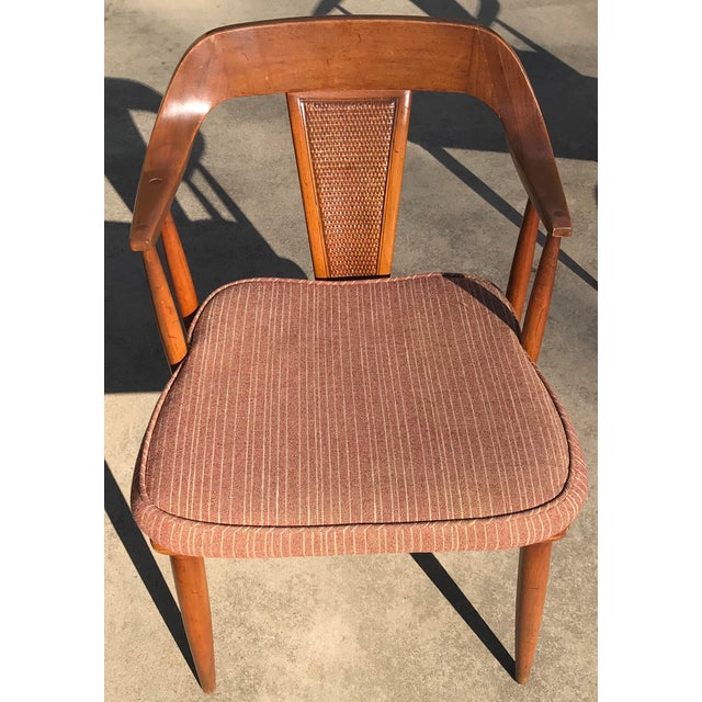 Tomlinson Tomlinson of High Point Mid Century Dining Chairs - Set of 4 For Sale - Image 4 of 13