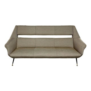 Mid-Century Newly Upholstered Settee by Gigi Radice for Minotti For Sale