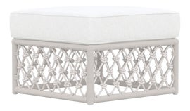 Image of Metal Outdoor Ottomans and Stools