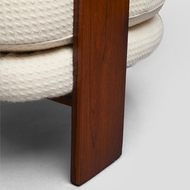 Textile Milo Baughman – Low Club Chair For Sale - Image 7 of 9