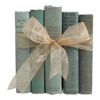 Vintage Book Gift Set: Paper & String European History, S/4